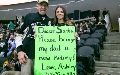 RMU alumni asks for help in kidney donation search at Penguins game