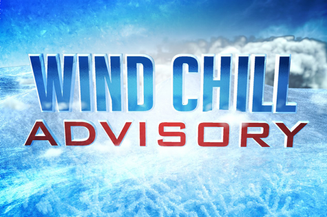 Wind Chill Advisory issued as temperatures rapidly drop