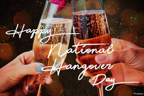 New Year's Day is National Hangover Day