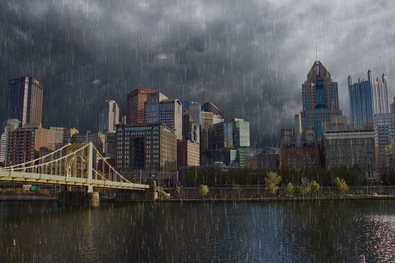 Pittsburgh shatters record for wettest year on record | RMU
