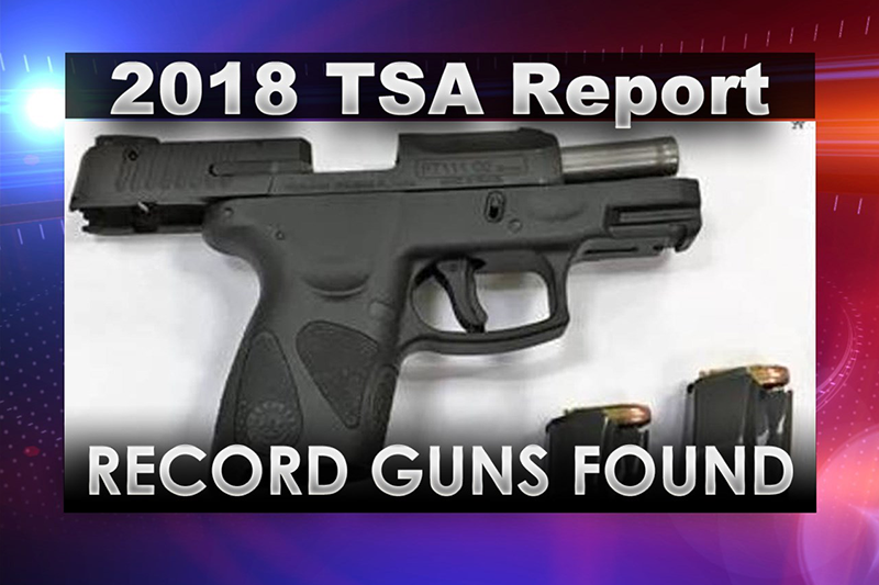 Guns detected at Pennsylvania airport checkpoints slightly increased in 2018
