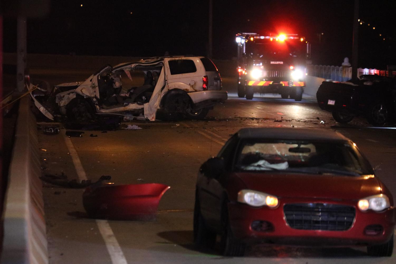 Pittsburgh police respond to accident on McKees Rocks Bridge