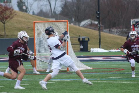 Men's lacrosse slays Knights for first win of season