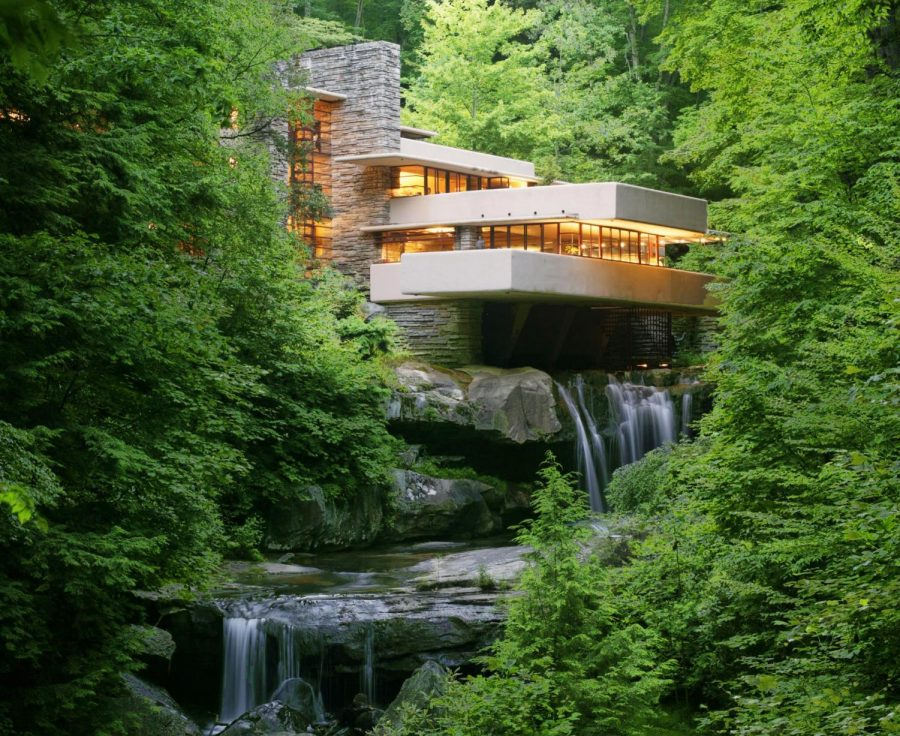 Frank+Lloyd+Wright%27s+Fallingwater+located+in+Pennsylvania%27s+Laurel+Highlands.+Photo+Credit%3A+%28Laurel+Highlands+Visitors+Bureau%29