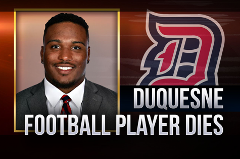 Duquesne University football player who jumped from building had drugs in his body