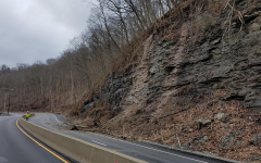 A landslide closed all lanes of University Blvd. on Feb. 8.