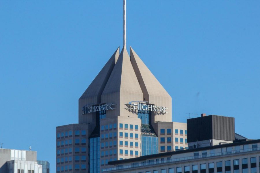 Highmark building in downtown Pittsburgh.