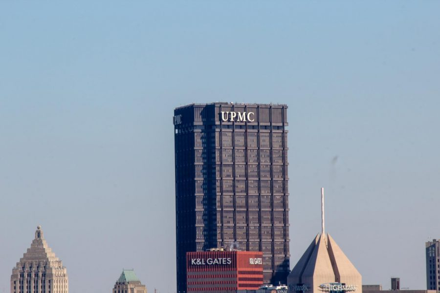 UPMC building in downtown Pittsburgh