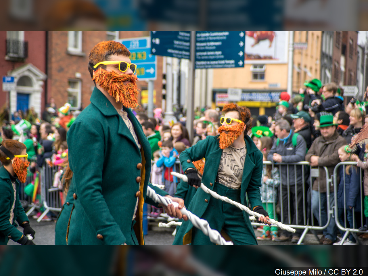 PHOTO: St. Patrick's Day parade in Dublin Ireland, Photo Date: 3/17/15 Photo Credit: (MGN Online)