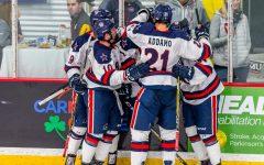 Christensen, AIC end men's hockey's season in Overtime