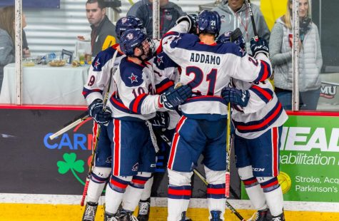 Colonials drop opening game to Michigan Tech in overtime