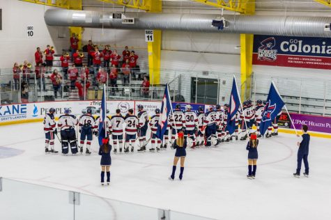 Preview: Colonials look to stun top-seeded Yellow Jackets in AHA semifinal