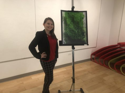 RMU student hosts art gallery for honors thesis