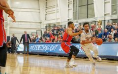 Men's basketball ties third largest comeback in program history to win in overtime