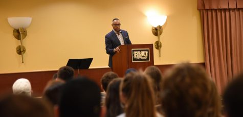 Jay Harris Speaks on the Campus of Robert Morris University