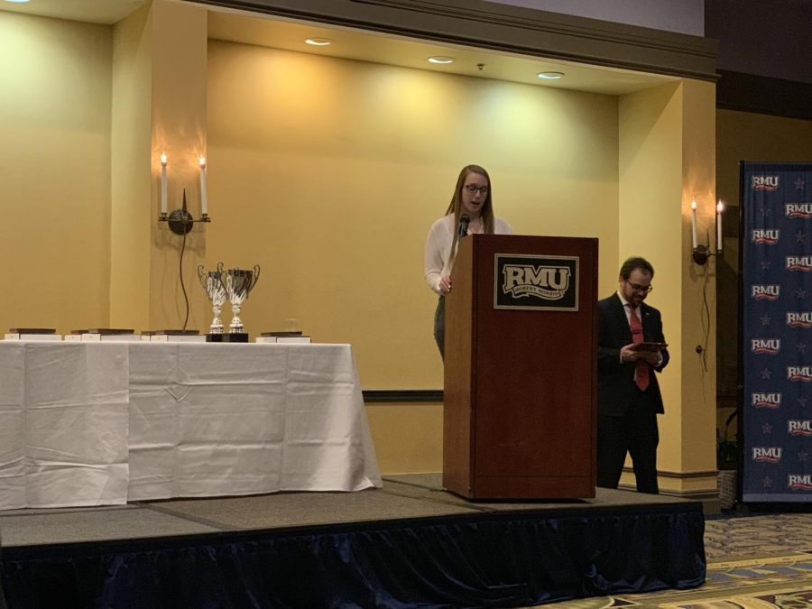 RMU Greek Life celebrates achievements with annual Greek Excellence event