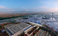 Conceptual renderings of the new terminal at Pittsburgh International Airport and are subject to change. Renderings courtesy of Gensler + HDR in association with luis vidal + architects.