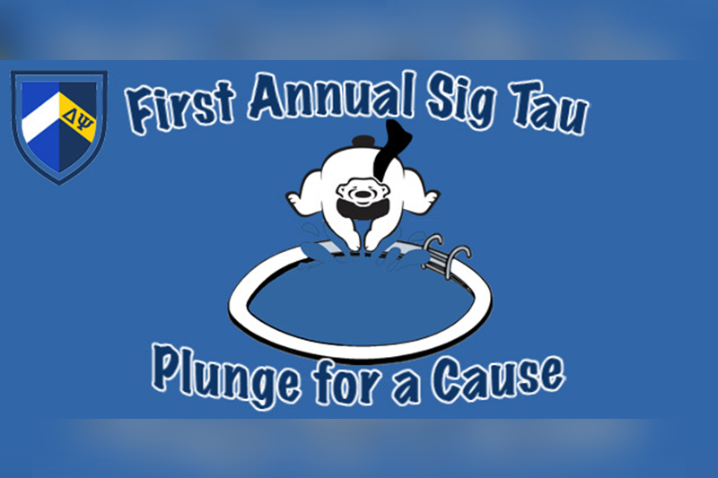 Sigma Tau Gamma hosts RMU's first ever Plunge for a Cause