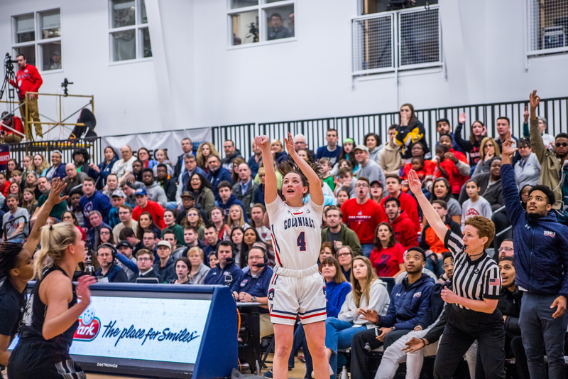 Colonials stay undefeated in NEC