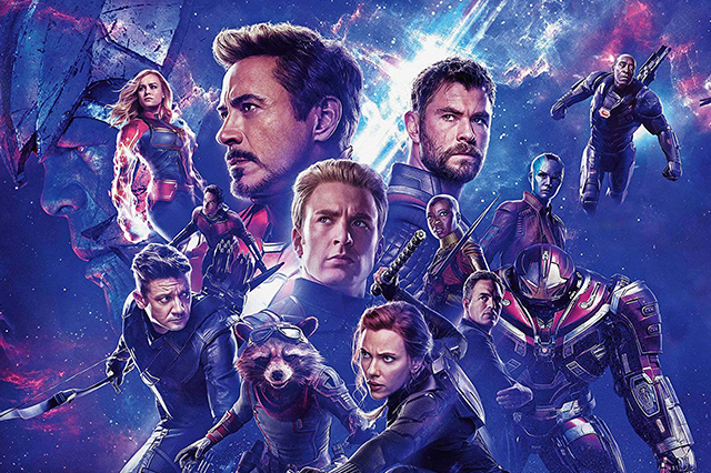 Promotional image for Avengers: Endgame by Marvel Studios.