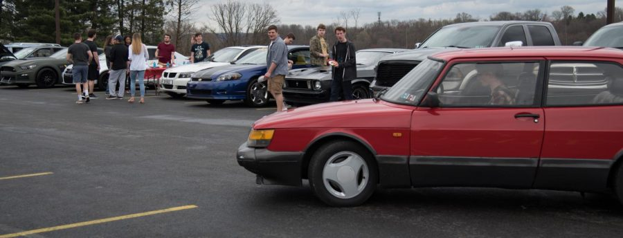 Car Club meets at Wheatley on April 12, 2019.