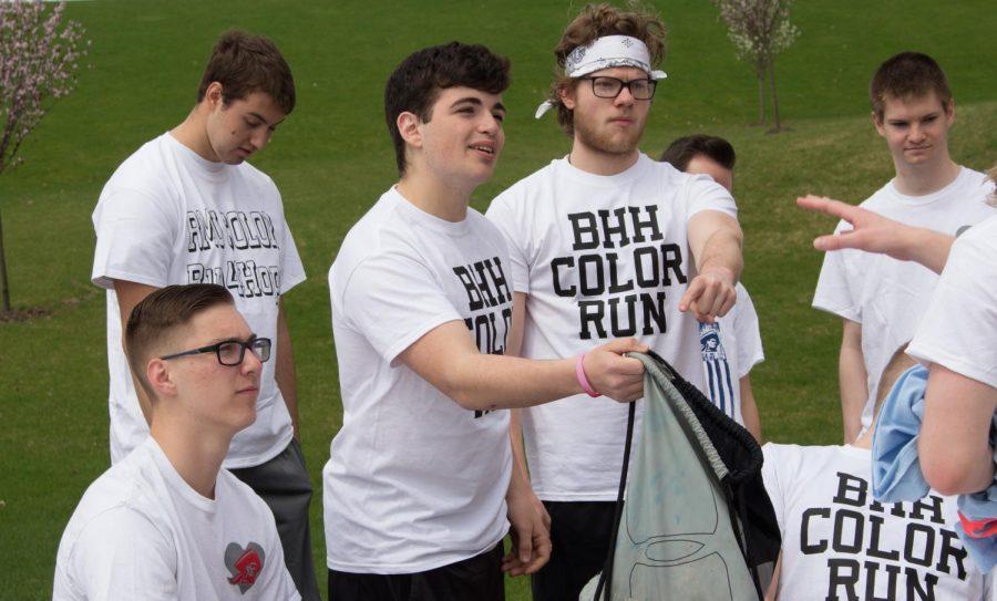Bringing Hope Home hosts 5K color run at Robert Morris University on April 13, 2019.