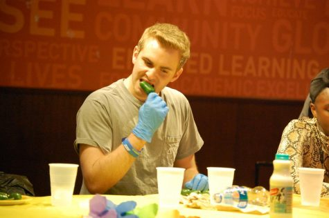 Jalapeño eating contest heats up at RMU