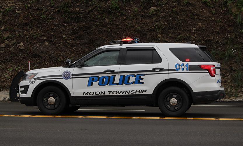Moon Township Police  Photo Credit: (RMU Sentry Media/ John Blinn)