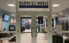 Robert Morris University's book store receives store renovations sponsored by Barnes and Noble.   Photo Credit: (RMU Sentry Media/ Soundharjya Babu)
