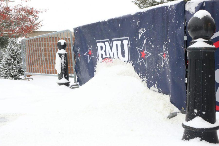 RMU snowy banner