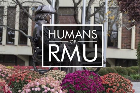 Humans of RMU Faculty and Staff Edition: John Locke, The WWE Academic Photo credit: Tori Flick