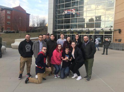 RMU Students at WWE