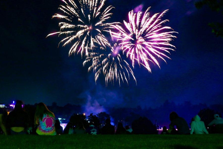 Fireworks at Bobby Mania 2019