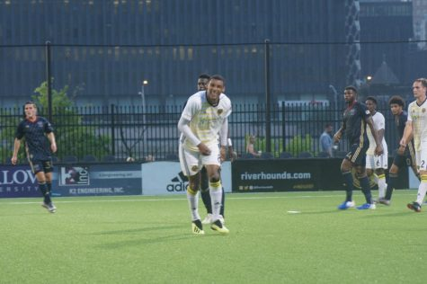 Riverhounds win nailbiter over Charleston