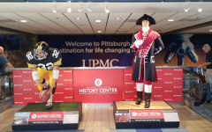 George Washington and Franco Harris statues return to Pittsburgh International Airport