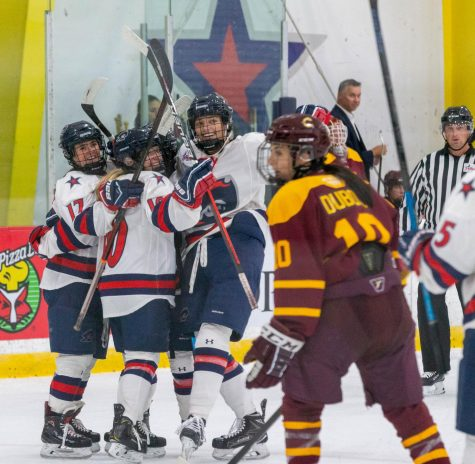 Women's hockey gets back on track against Penn State