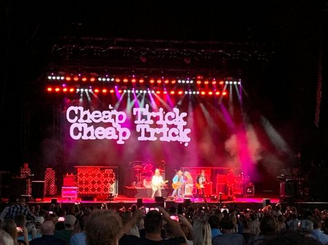 ZZ Top and Cheap Trick rock out at KeyBank Pavilion