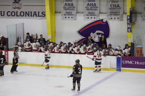 Colonials drop heartbreaker to no. 2 Minnesota in overtime