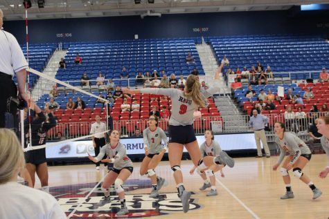 Volleyball remains perfect in the NEC