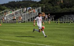 Recap: Rota's header sends men's soccer past California Baptist, 2-1