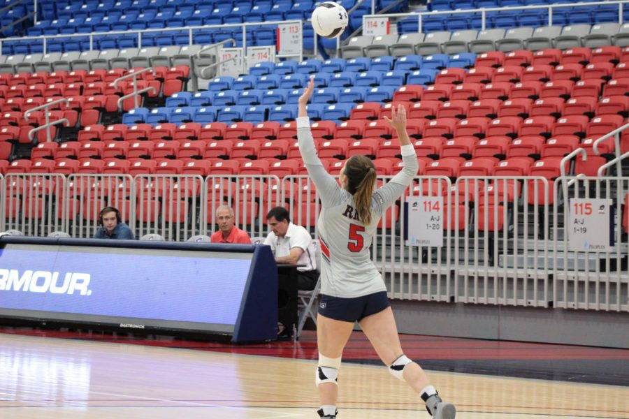 Preview: Volleyball takes on struggling St. Francis