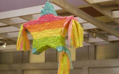 Students gather in Yorktown hall for Paint Your Pride