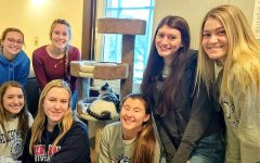 Several RMU students volunteered with Animal Advocates during the 2020