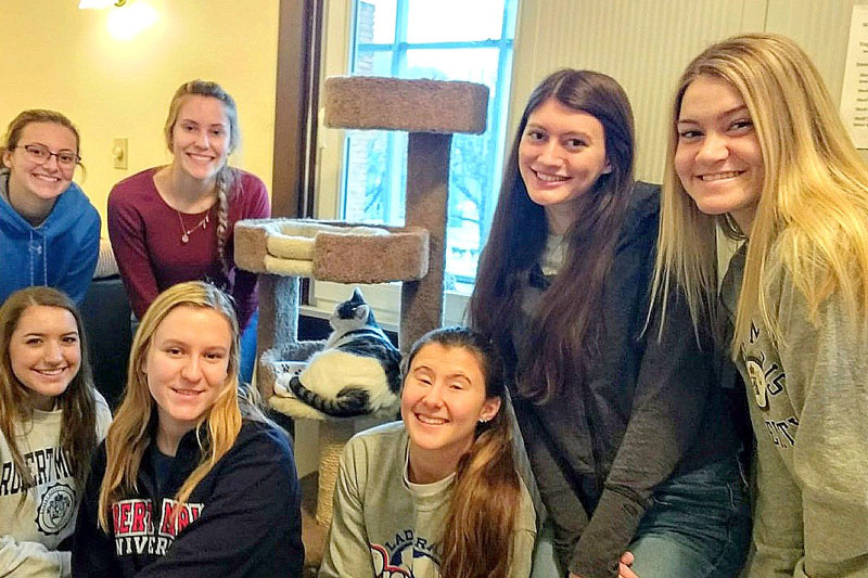 RMU students volunteer at local nonprofit organizations for spring Day of Service