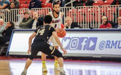RMU gets scrappy in 64-54 win