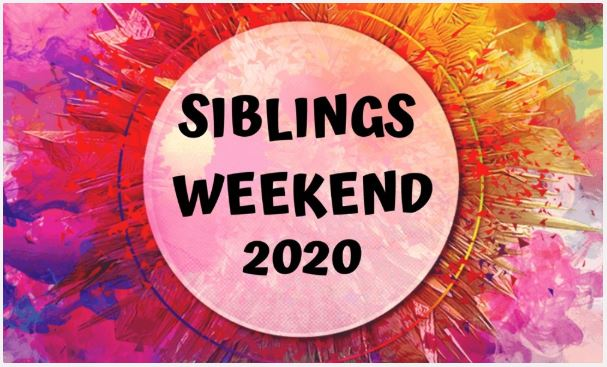 Siblings Weekend 2020 promotional image from Student Life.