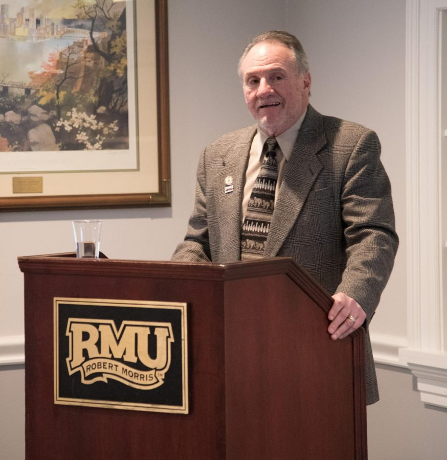 Dr. Manna gives his Speech