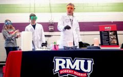 RMU students volunteer for No School STEM Day