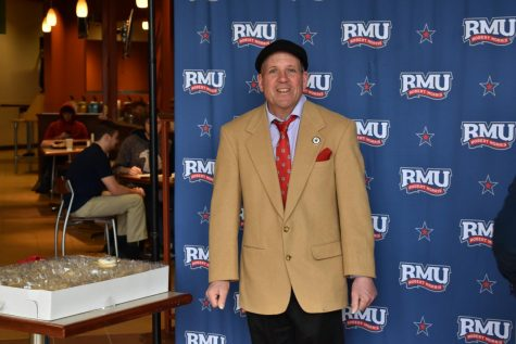 John Tucci – RMU's President for a day