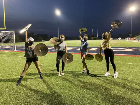 RMU Bands adapt to playing in a pandemic